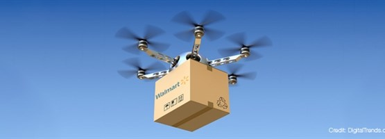 Drone Delivery? Walmart Embraces New Technology